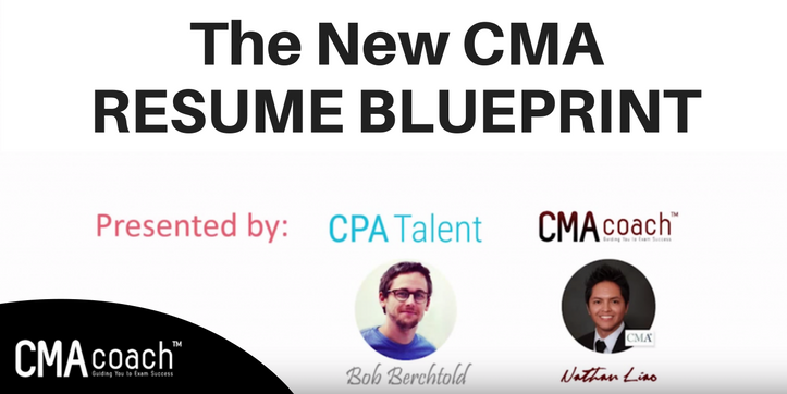 the new cma resume blueprint